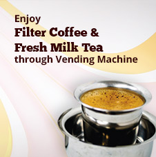 Fresh Milk Filter Coffee ad