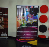 Cafe Desire sponsers health drinks to children at