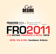 Cafe Desire best Franchise Opportunity show at Kolkata