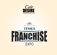 Cafe Desire best Franchise Opportunity show at Bangalore