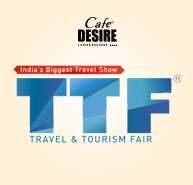 Cafe Desire sponsers India's Largest Travel & Tourism Fair - Hyderabad