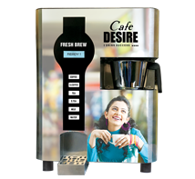 Fresh Brew Coffee Tea Vending Machine