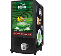 Green Tea Vending Machine